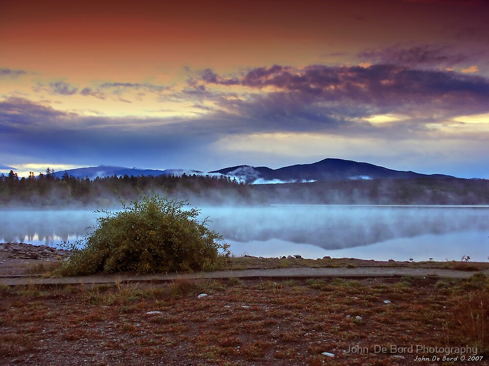 Morning Meditation by John  De Bord Photography