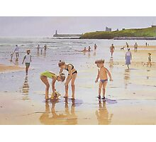 Summer at Tynemouth Photographic Print