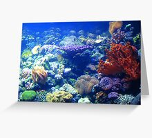 Under the sea... Greeting Card