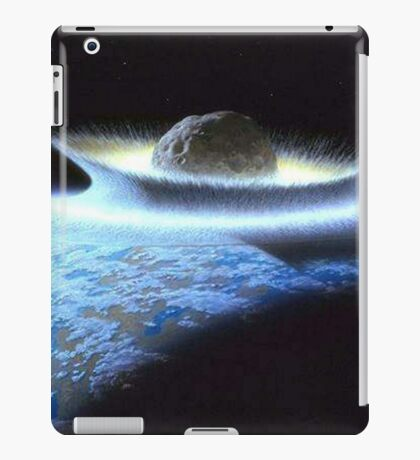 IMPACT, Meteor, Artistic depiction of a cataclysmic impact iPad Case/Skin
