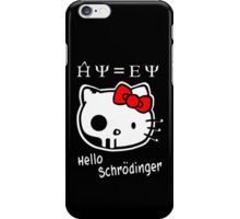 Hello Schrodinger iPhone Case/Skin