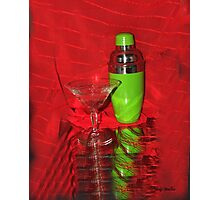 Martini Time Photographic Print