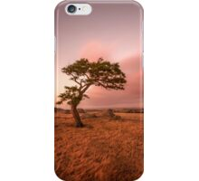sunset at dog rocks iPhone Case/Skin