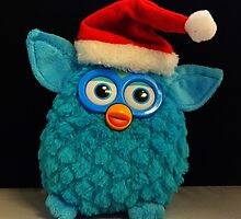 Xmas Furby by FendekNaughton