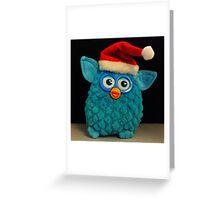 Xmas Furby Greeting Card