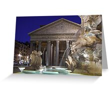 Rome - Pantheon Greeting Card