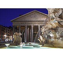 Rome - Pantheon Photographic Print
