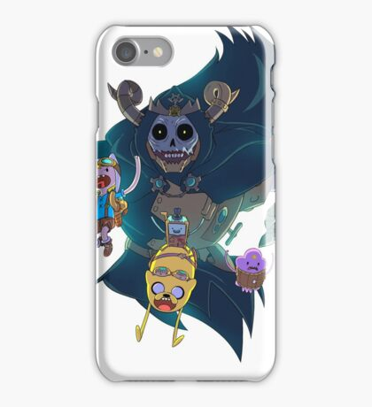 Steampunk Adventure Time iPhone Case/Skin