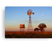 Evening Glow - Narrandera Canvas Print