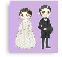 Margaret + John Canvas Print