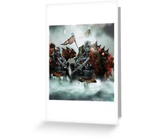 Robot Beings of the Mecha-Frost 1 Greeting Card