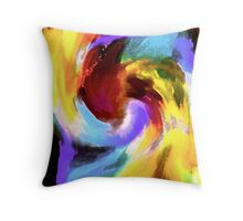 Just Color II Throw Pillow