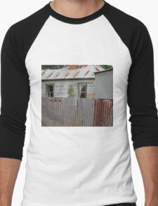 Rural house Men's Baseball ¾ T-Shirt