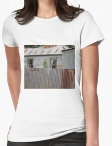 Rural house Womens Fitted T-Shirt
