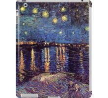 Starry Night over the Rhone, Vincent van Gogh iPad Case/Skin