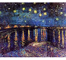 Starry Night over the Rhone, Vincent van Gogh Photographic Print