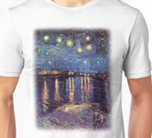 Starry Night over the Rhone, Vincent van Gogh Unisex T-Shirt