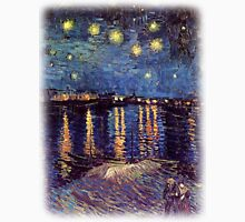 Starry Night over the Rhone, Vincent van Gogh T-Shirt