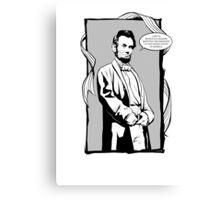 Captain Abe Canvas Print