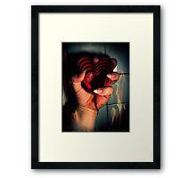 Burning Hearts Framed Print