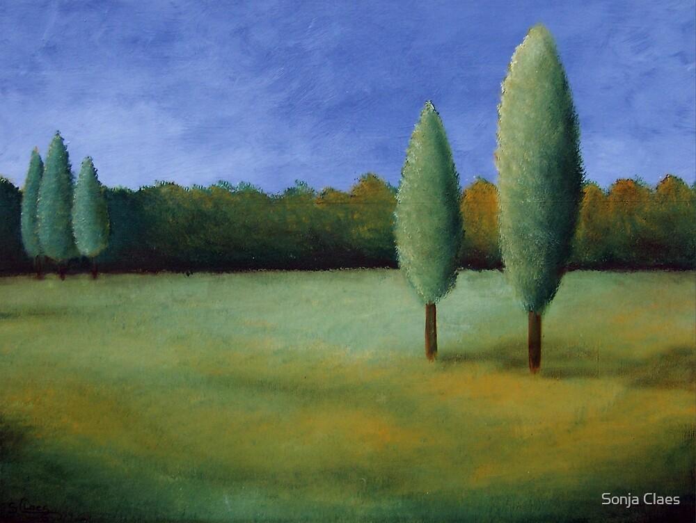 Landscape I by Sonja Claes