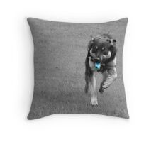 ASTHMATIC DOG Throw Pillow