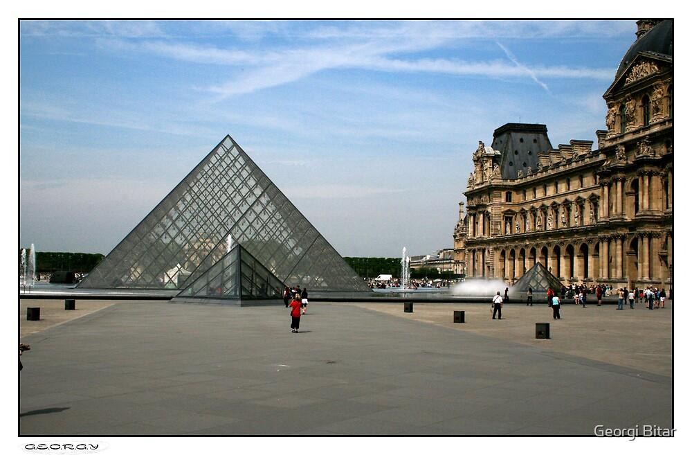 Musée du Louvre by Georgi Bitar