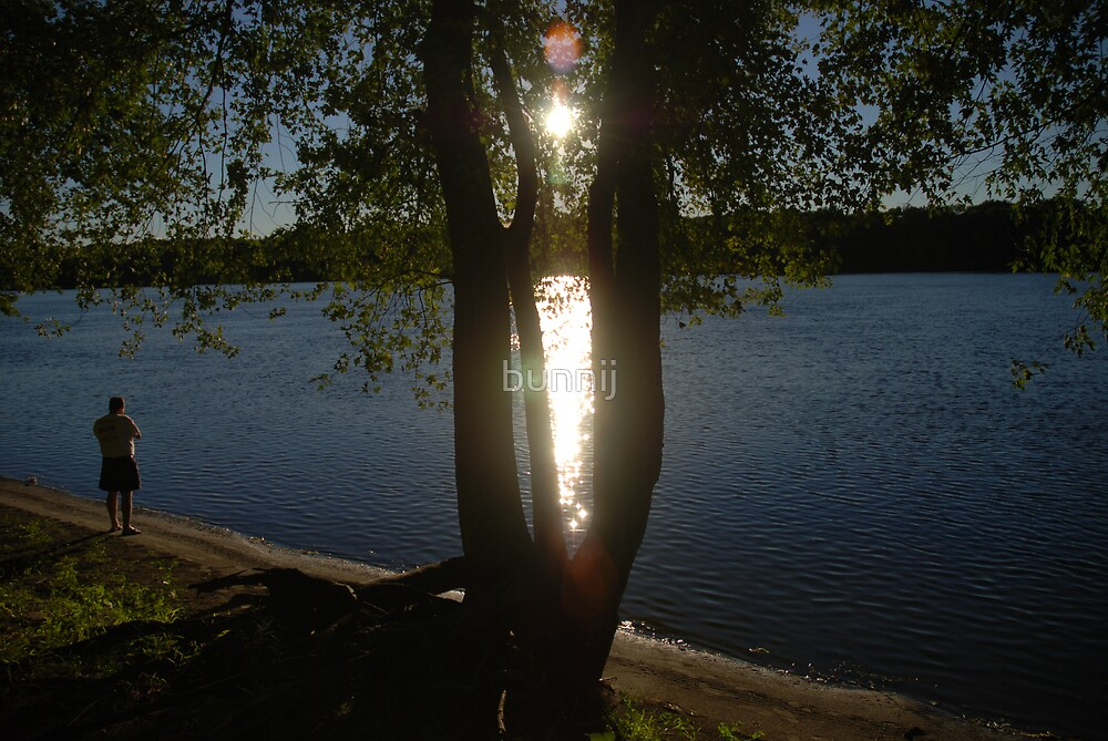 Sunlight Peaking by bunnij