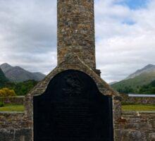 Glenfinnan Monument Sticker