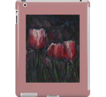 Saucy Tulips 2 iPad Case/Skin