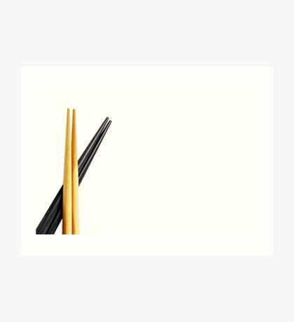 Chopsticks Art Print
