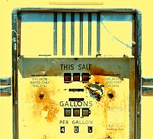Gas Pump by Karin  Hildebrand Lau