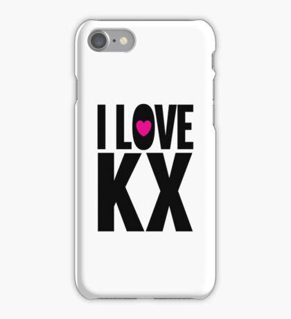 I LOVE KX iPhone Case/Skin