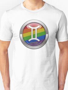 Gemini - LGBT Pride Rainbow  T-Shirt