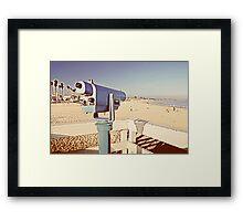 Vintage Viewfinder Framed Print