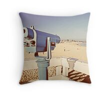 Vintage Viewfinder Throw Pillow