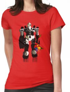 Robot Lover Womens Fitted T-Shirt