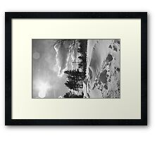 Snowstorm PA Framed Print