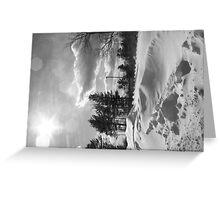 Snowstorm PA Greeting Card