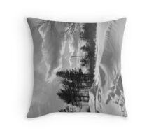 Snowstorm PA Throw Pillow