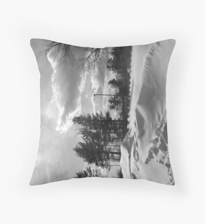 Snowstorm PA Throw Pillow