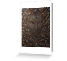 Elf Queen Greeting Card