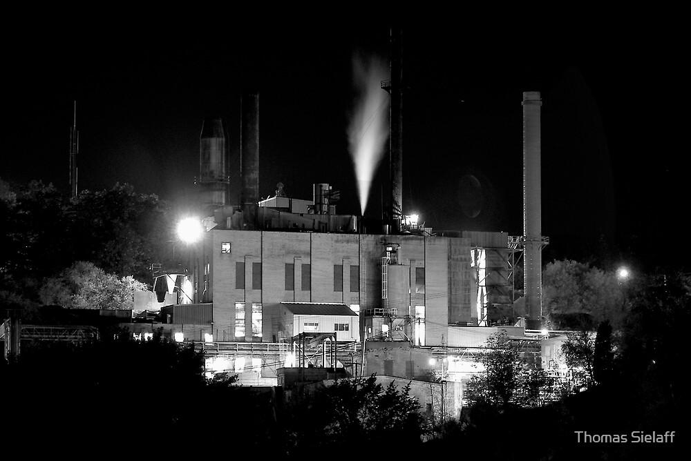 Factory B&W by Thomas Sielaff