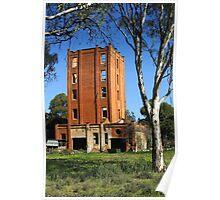 Lincolns Oakbank Brewery at Narrandera Poster