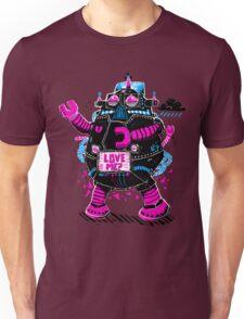 Robot Needs Love  Too Unisex T-Shirt
