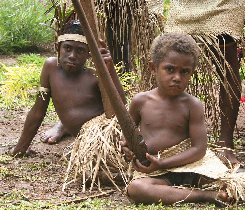 Vanuatu's Children by Kim Langmaid