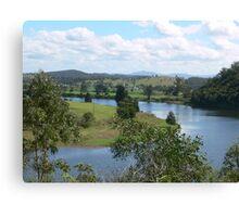 Manning River Taree N.S.W. Australia. Canvas Print