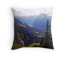 Kehlsteinhaus Splendour Throw Pillow