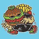 Burger Lurker by Peachmunkey