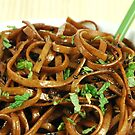 Stir Fried Udon Noodles by Karin  Hildebrand Lau